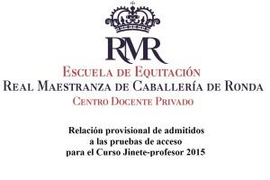 Logo_Escuela_RMR_Centro Docente Privado pruebas de acceso
